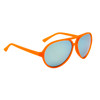 Wholesale Mirrored Aviator Sunglasses - Style #35614 Orange w/Revo