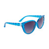 Bulk Rhinestone Cat Eye Sunglasses - Style #DI158 Blue