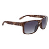 Camouflage Unisex Sunglasses - Style #6086 Warm Brown w/Smoke Lens
