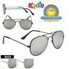 Mirrored Kid's Aviator Sunglasses Wholesale - Style #8233