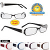 Plastic Reading Glasses - R9083 Spring Hinge!