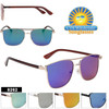Mirrored Hipster Sunglasses - Style #8262