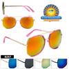 Wholesale Mirrored Sunglasses - Style #8257