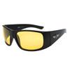 Bulk Polarized Xsportz™ Driving Sunglasses XS7044 Black/Yellow