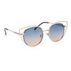 Wholesale Fashion Sunglasses - Style #6176 Blue/Peach