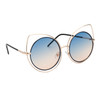 Women's Fashion Sunglasses - Style #6171 Blue