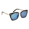 Women's Fashion Sunglasses - Style #6172 Black/Blue