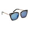 Women's Fashion Sunglasses - Style #6172 Black/Blue