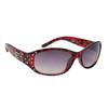 DE™ Rhinestone Sunglasses - Style #DE5094 Red Tortoise