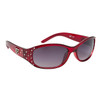 DE™ Rhinestone Sunglasses - Style #DE5094 Red