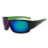 Xsportz™ Sports Sunglasses by the Dozen - Style XS8005 Black/Green