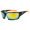 Xsportz™ Sports Sunglasses in Bulk - Style XS8008 Black/Orange