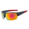 Xsportz™ Bulk Sports Sunglasses XS8003-Black/Red with Revo Lenses
