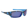 Blue and Black Camo frames with blue lenses