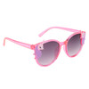 Bright Pink colored frames with unicorn accents