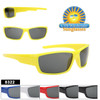 Sleek Sporty Kids style Sunglasses!  Comes in 6 great colors!
