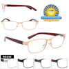 Retro style reading glasses wholesale!  This is a great style that will sell out fast!