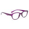 Purple colored Cat Eye Framed Readers