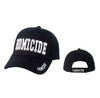 Black Homicide Baseball Hats C1045