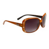 Wholesale Rhinestone Diamond™ Eyewear - DI521 Translucent Brown
