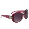 Diamond Eyewear Fashion Sunglasses for Women DI111 Transparent Maroon Frame Color