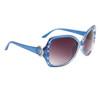 Women's Rhinestone Sunglasses by the Dozen DI123 Blue