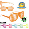 Glow in the Dark Paint Splatter Shutter Shades! 22011