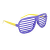 Wholesale Shutter Shades 557 Purple & Yellow Frame