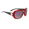 Fashion Sunglasses for Women DE114 Black & Red Frame