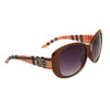 DE™ Women's Fashion Sunglasses Wholesale - Style # DE594 Brown
