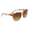 Wholesale Fashion DE™ Sunglasses - DE601 Brown Striped
