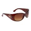 DE™ Designer Sunglasses by the Dozen - Style #DE79 Brown