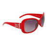 Fashion Sunglasses DE80 Red Frame