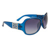 DE534 Women's Fashion Sunglasses Blue Frames