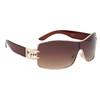 DE™ Designer Eyewear Sunglasses Wholesale - Style #DE18 Translucent Brown
