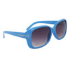 Fashion Wholesale Sunglasses 24313 Blue Frame Color