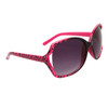 Animal Print Wholesale Sunglasses - Style # 22613 Hot Pink