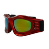 Goggles Wholesale G419 Red Frame w/Revo Lens