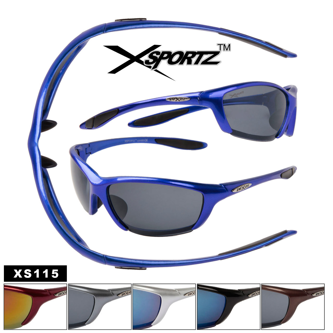XS115 Wholesale Xsportz Sunglasses