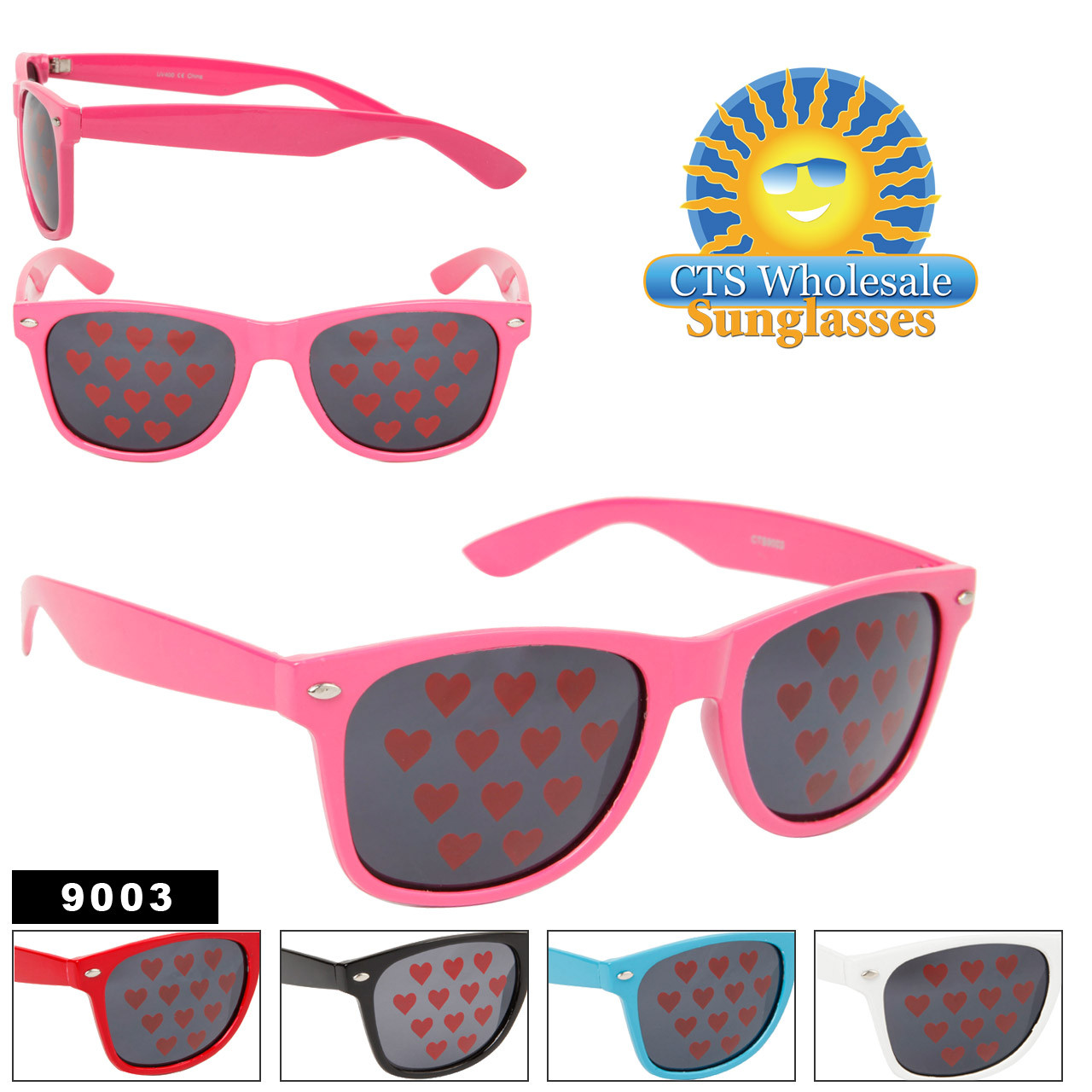 9003 Heart Sunglasses