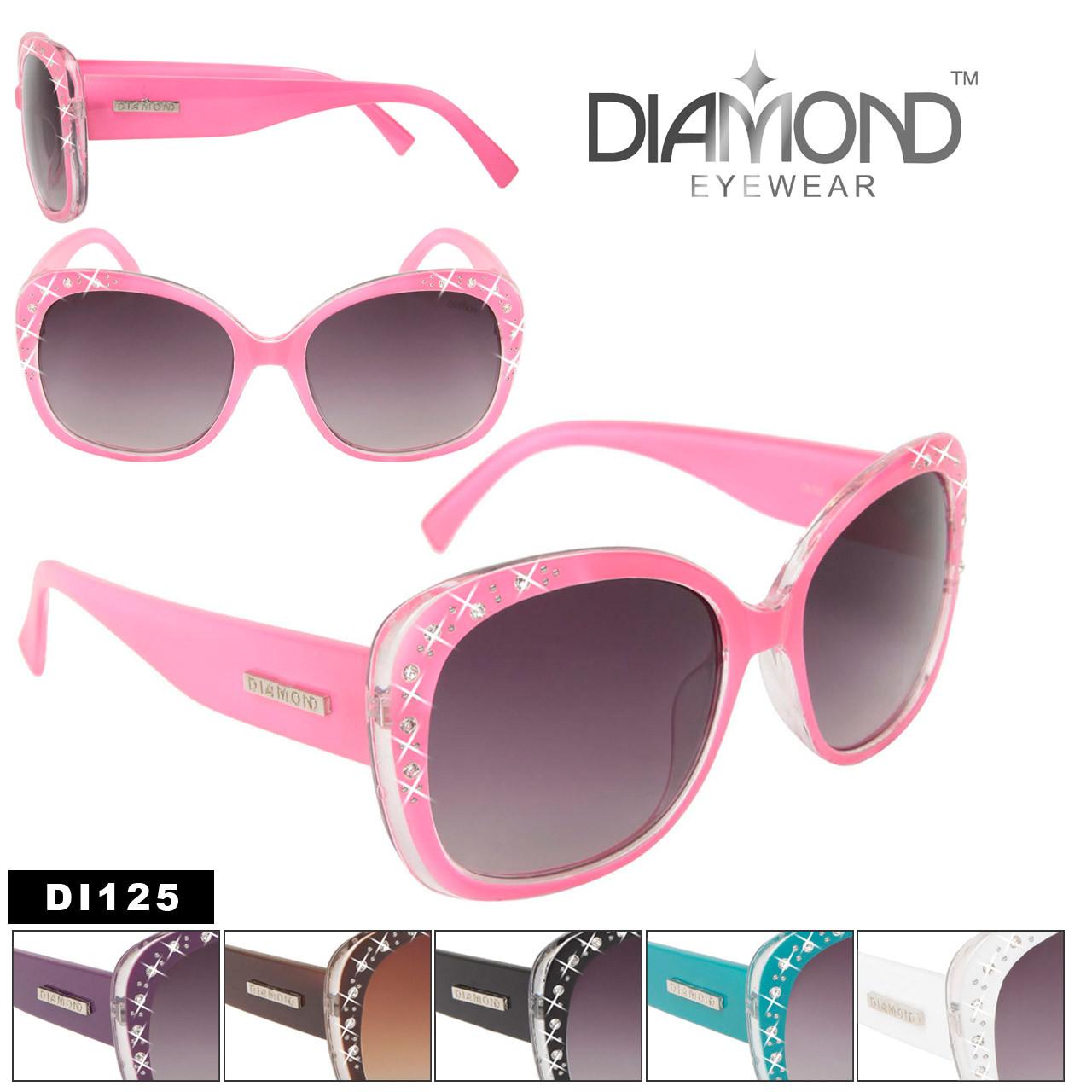 DI125 Sparkling Rhinestone Sunglasses by Diamond