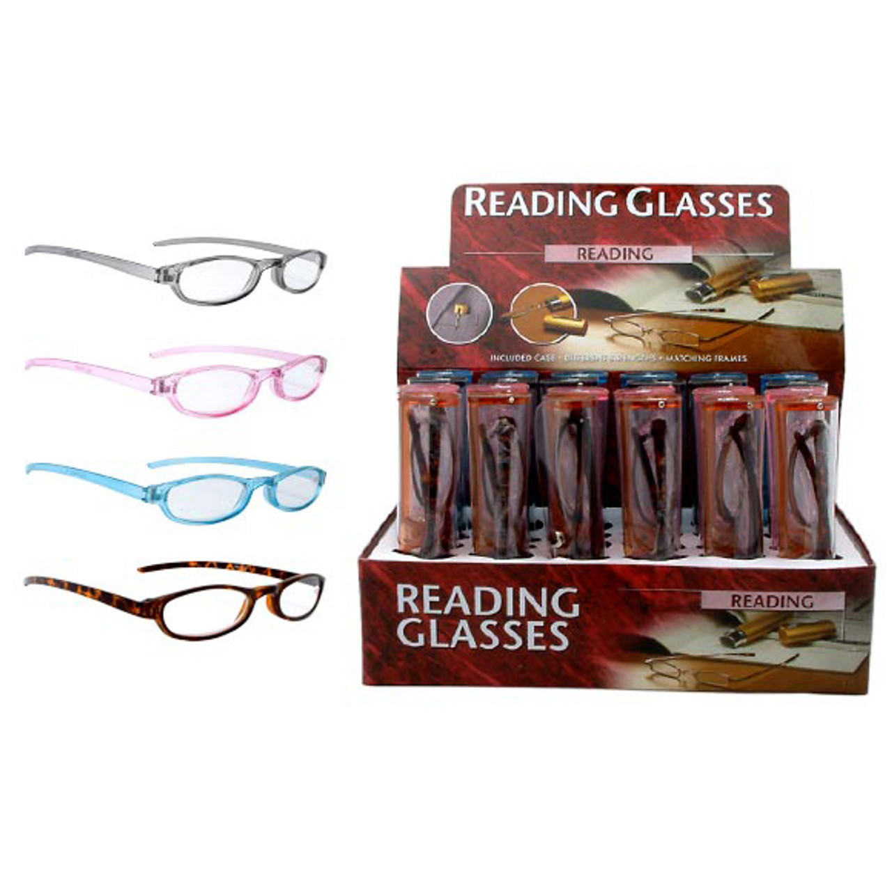 Wholesale Clear Lens Reading Glasses