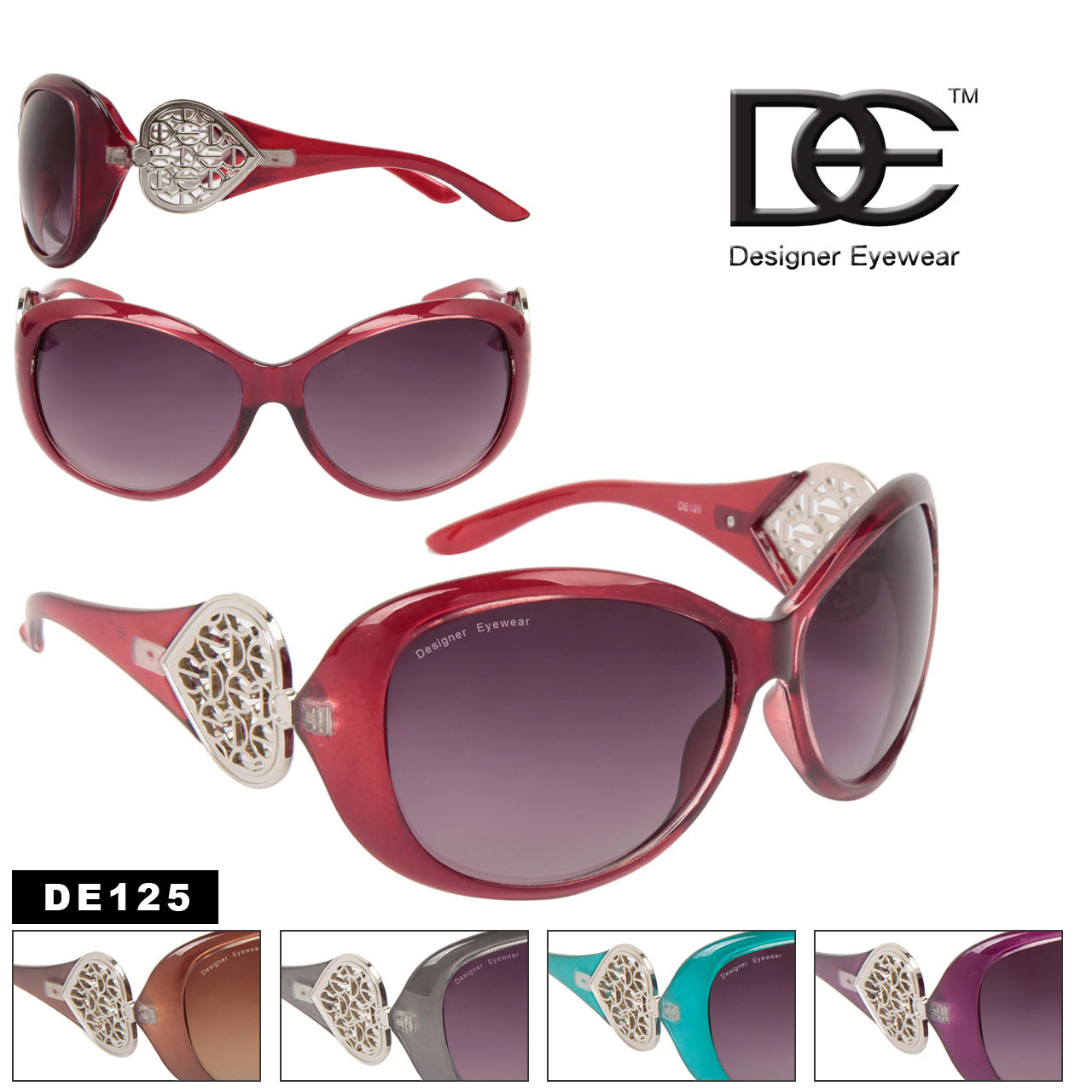 Fashion Sunglasses by Designer Eyewear DE125