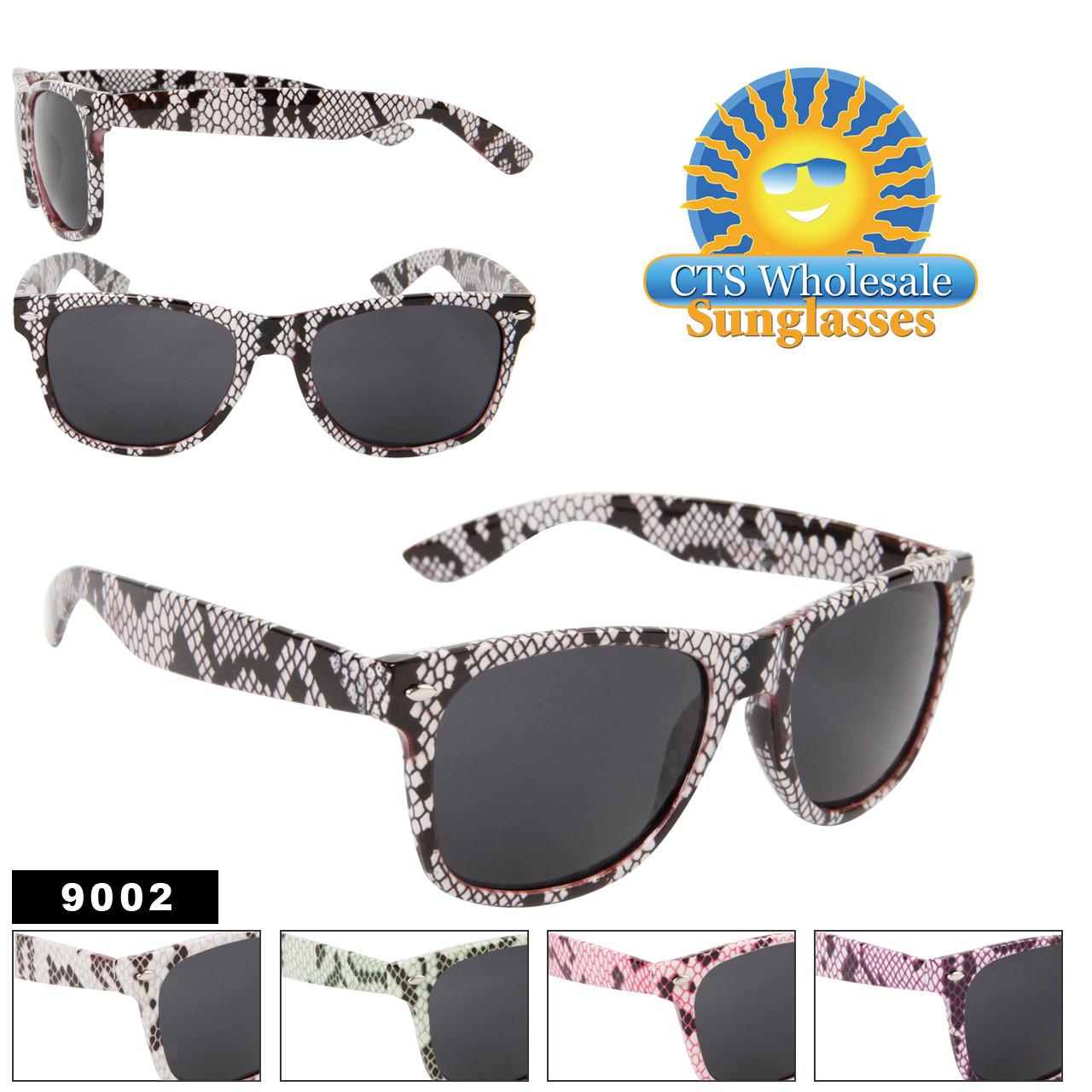 #9002 Snake Skin California Classics Sunglasses