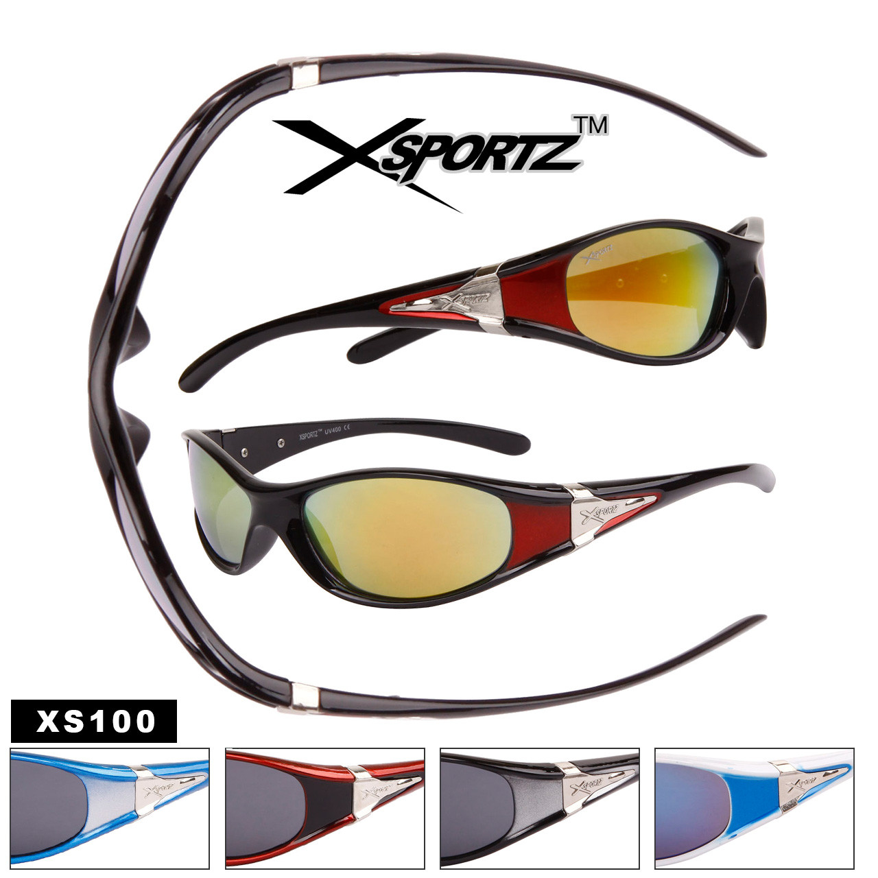 c6b8c03533cd Slim Full Frame Wrap Around Sport Sunglasses - Style  XS100