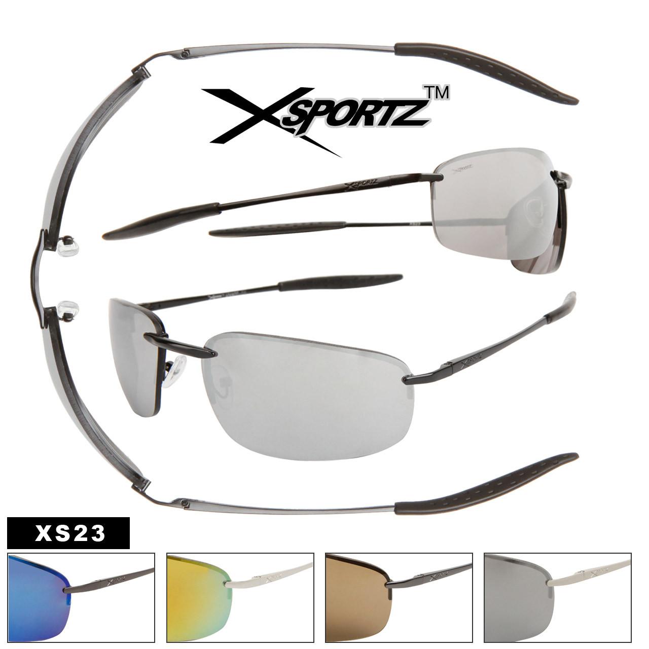 Metal Frame Sport Sunglasses for Men XS23