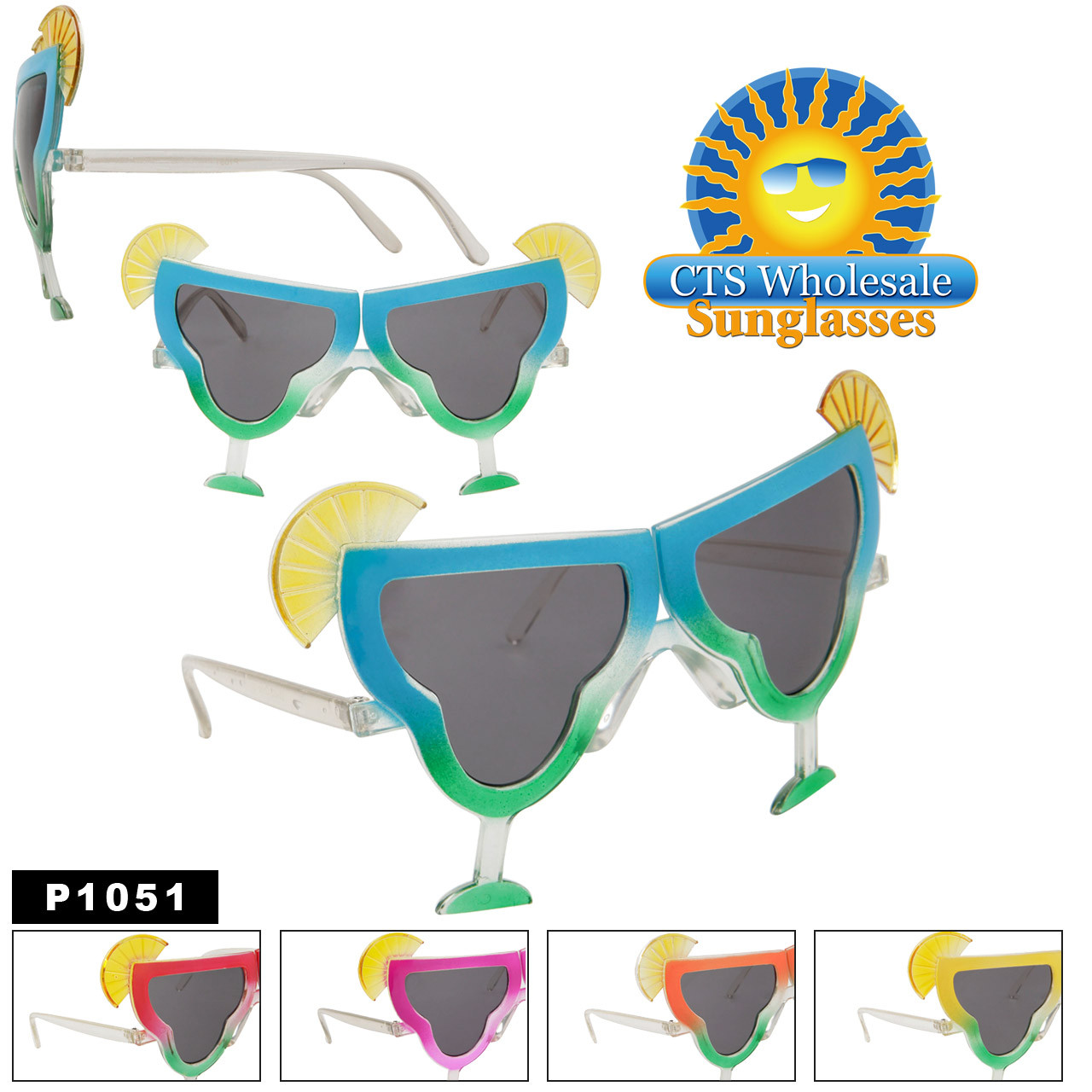 Margarita Glasses Party Sunglasses