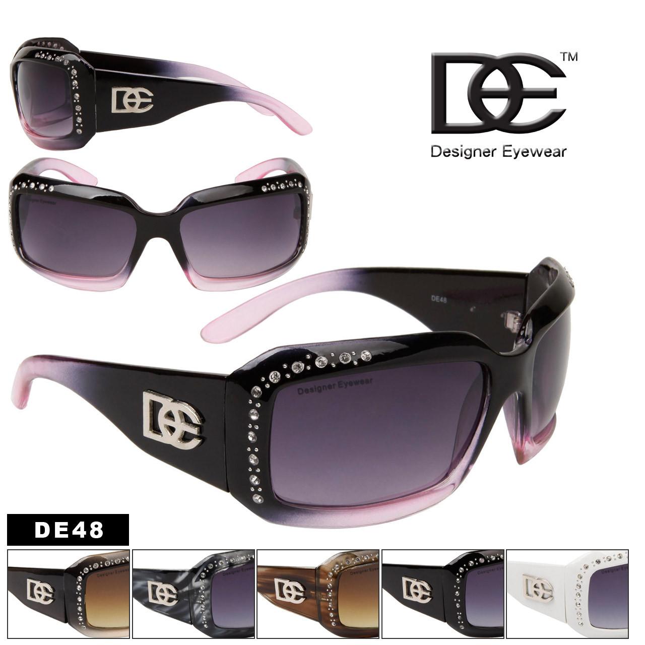 Rhinestone Sunglasses by DE™ Designer Eyewear DE48