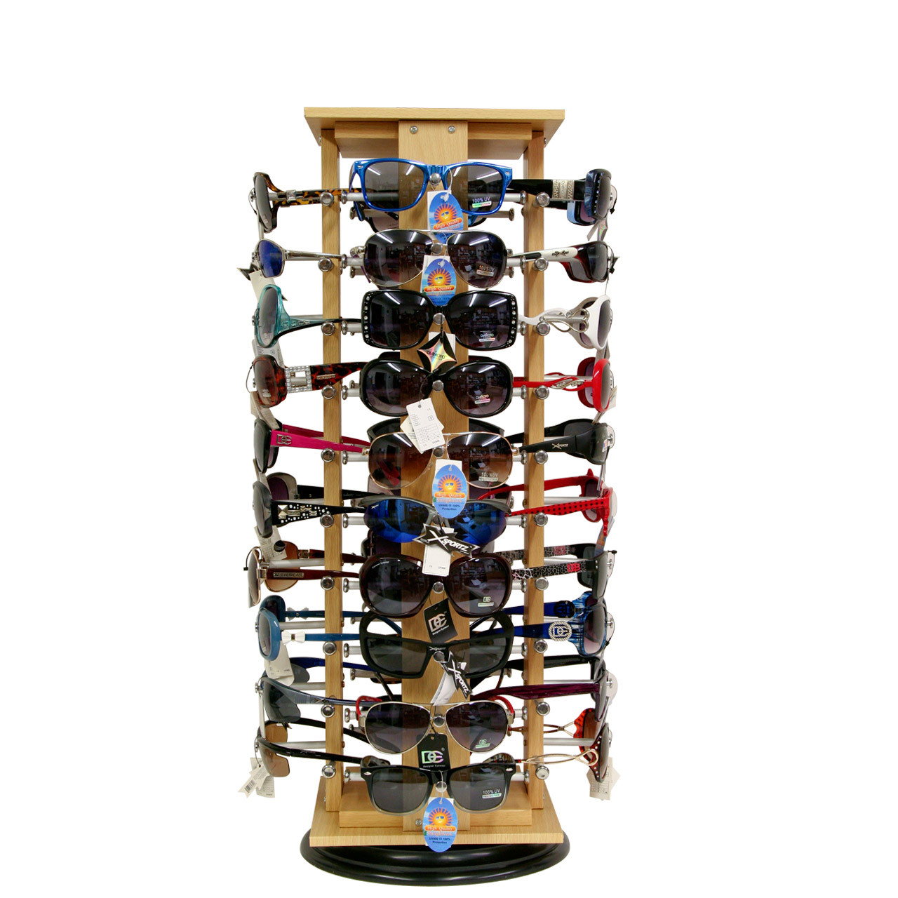 Counter Top Rotating Sunglass Display Stand ~ Holds 40 Pairs D5000