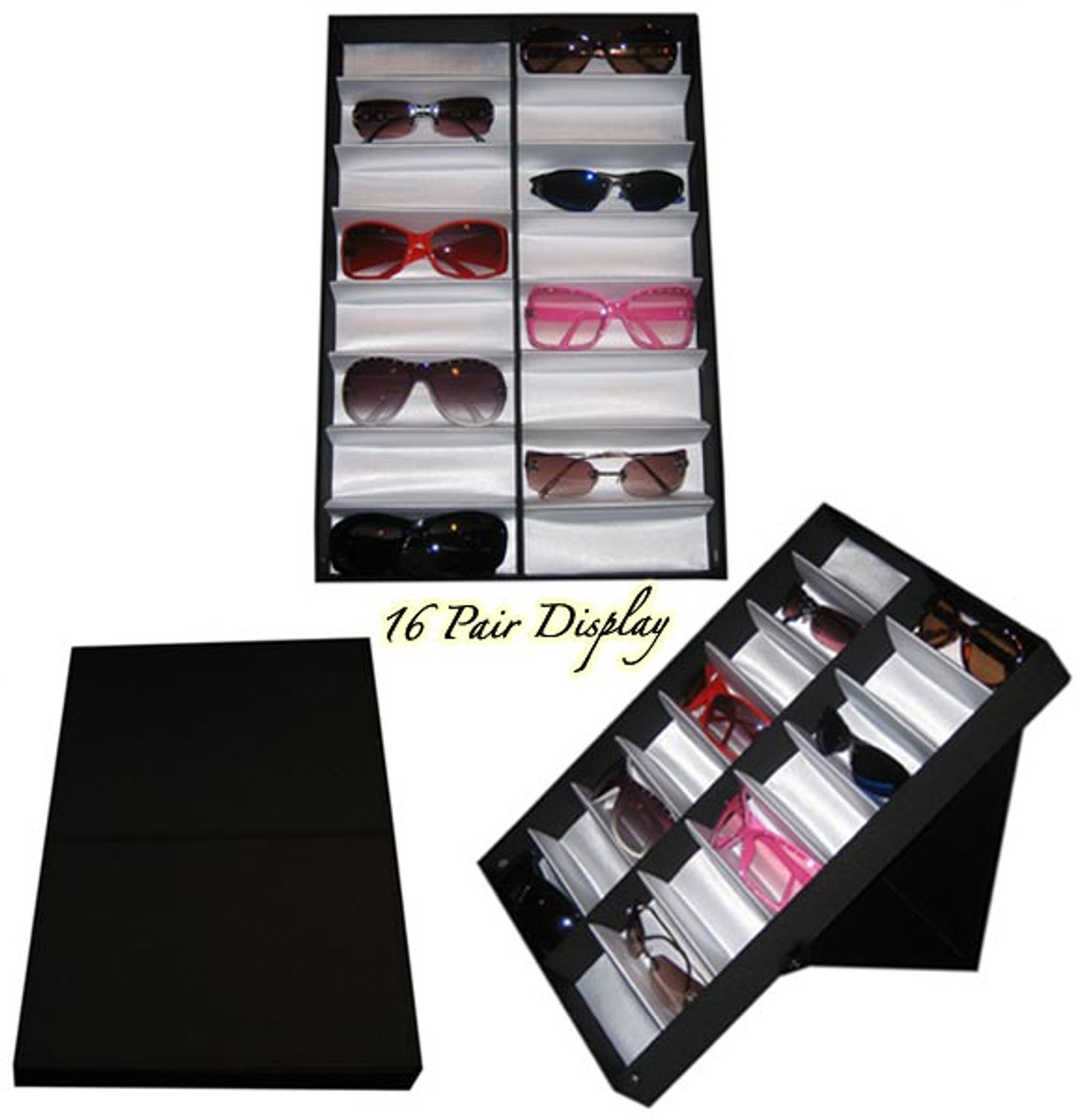 Folding Sunglass Display Case 7034
